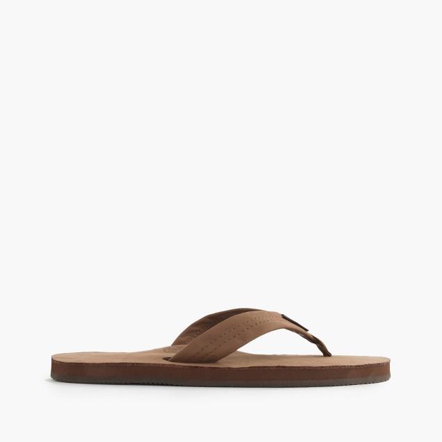 Rainbow® leather flip-flops