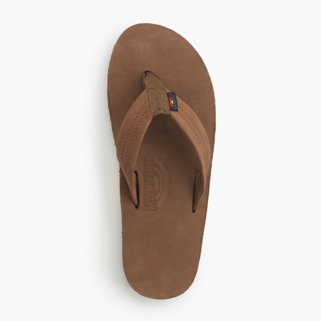 Rainbow® leather flip-flops