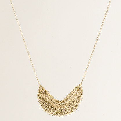 Mini mesh supernova necklace