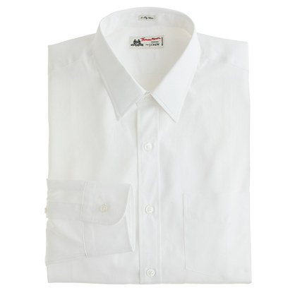 Thomas Mason® for J.Crew Ludlow point-collar shirt