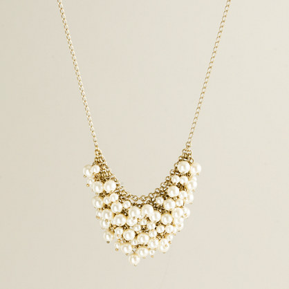 Mini pearl supernova necklace