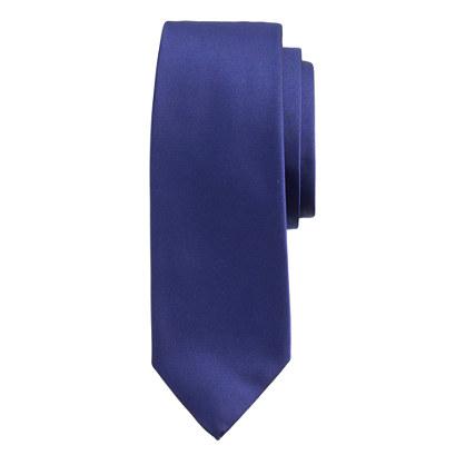 English satin tie