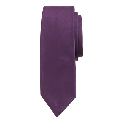 English satin tie