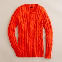 Shrunken fisherman sweater