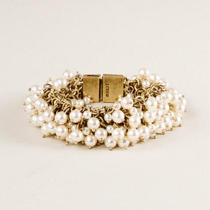 Mini pearl supernova bracelet