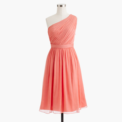 Petite Kylie dress in silk chiffon
