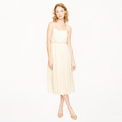 Carmela dress in silk chiffon