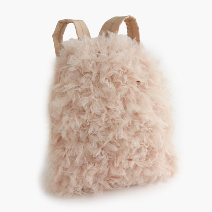 Girls' tulle backpack