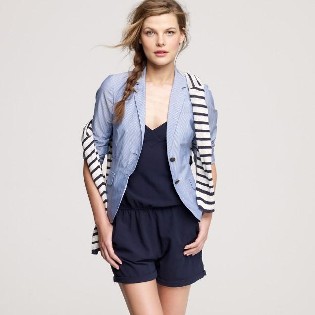 Tallschoolboy blazer in summer stripe