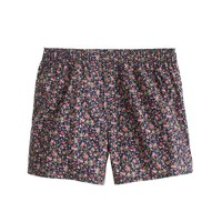 Floral-print boxers