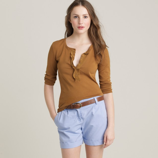 Perfect-fit henley