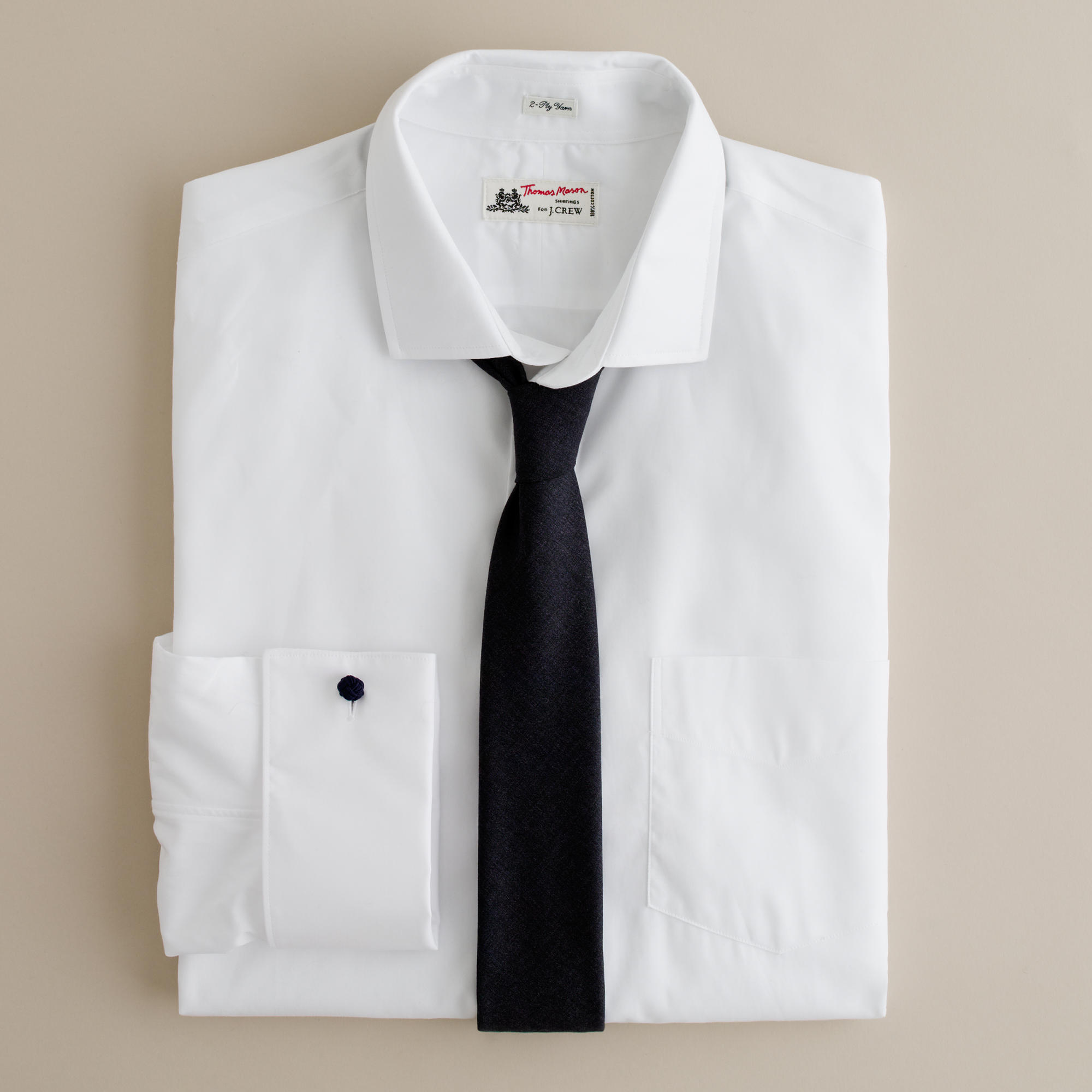 Thomas Mason French Cuff Shirt J Crew
