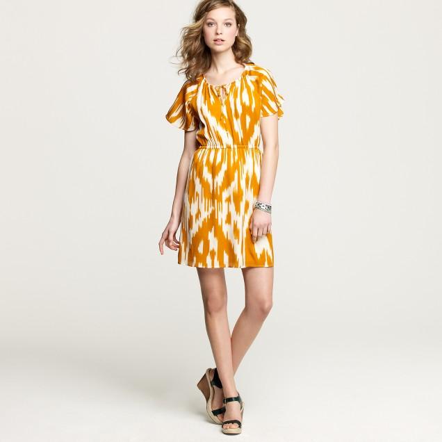 Indira ikat dress