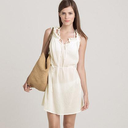 Whisper gauze beach dress