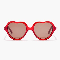 Girls' Selima Optique® for crewcuts heart sunglasses