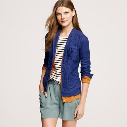 Linen Bermuda jacket