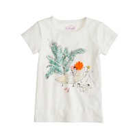 Girls' on vacation tee