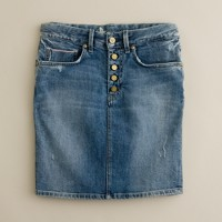 MiH Jeans® Delancey denim skirt