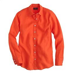 Tall perfect shirt in linen