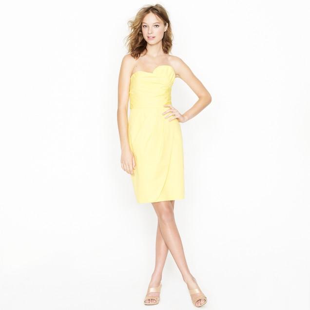 Gabby dress in cotton taffeta