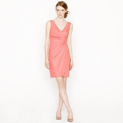 Ramona dress in cotton taffeta