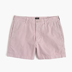 "5"" Stanton short in garment-dyed cotton"