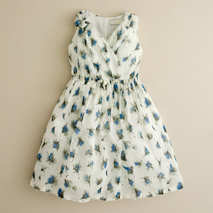 Girls'  garden party dress