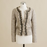 Platinum tweed jacket