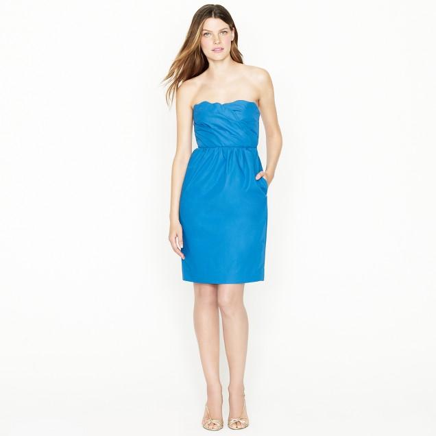 Samantha dress in cotton taffeta