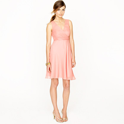 Evie dress in silk chiffon