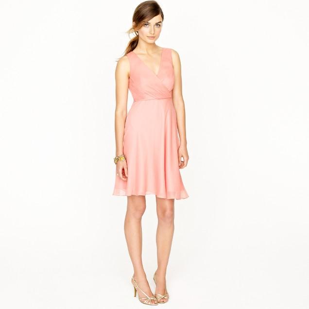 Evie dress in silk chiffon