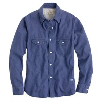 Chimala® denim officer's shirt