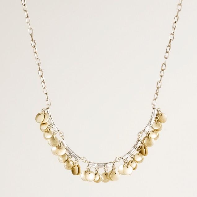 Crystal confetti necklace