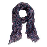 Medallion paisley scarf