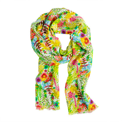 Liberty floral scarf
