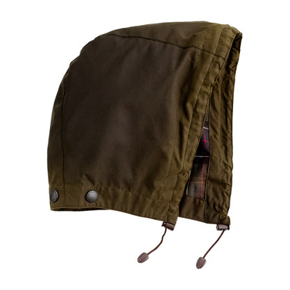 Barbour® Sylkoil removable hood