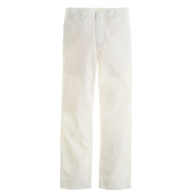 Boys' lightweight chino in classic fit