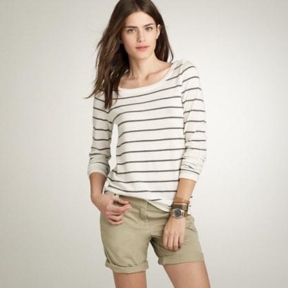 Merino stripe sweater