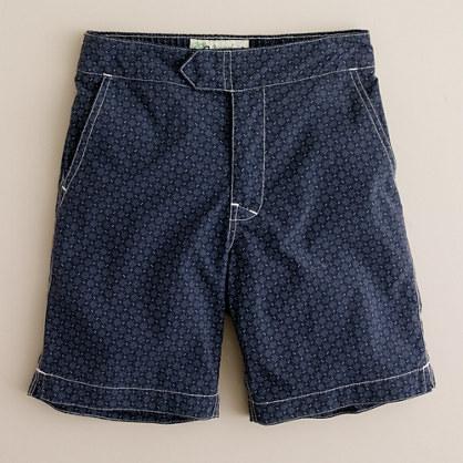 Boys' mini-diamond swim short