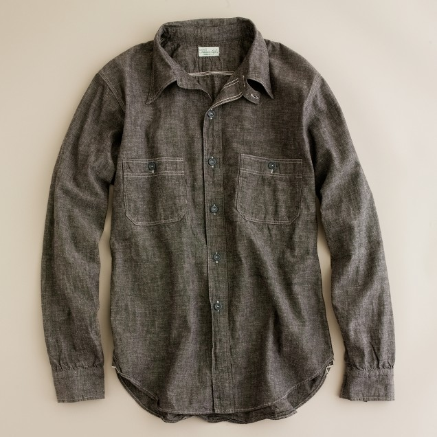 Heller's Café™ by Warehouse Sturdy Oak workshirt