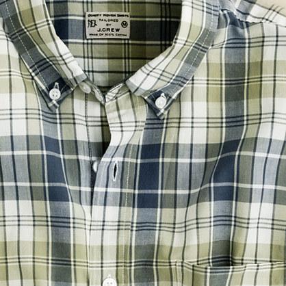 Button-down shirt in Nicholas madras