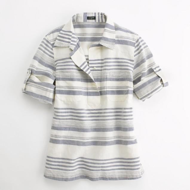 Factory multistripe pullover