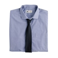 Thomas Mason® for J.Crew spread-collar dress shirt in minigingham