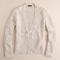 Open-stitch cardigan