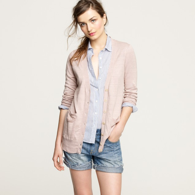 Linen sundown cardigan