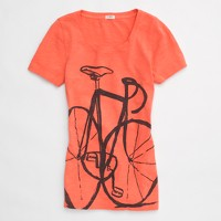 Factory bicycle tee