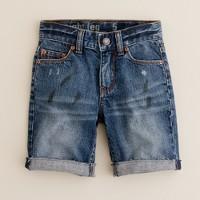 Boys' cutoff jean short