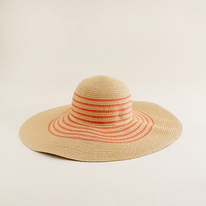 Beach stripe hat