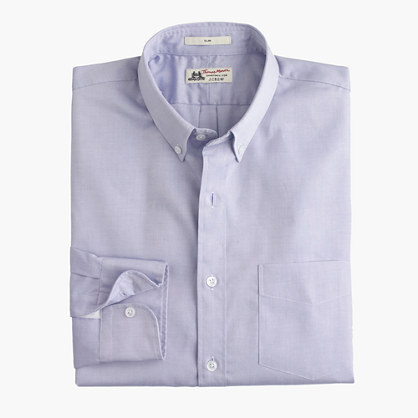 Thomas Mason® for J.Crew Ludlow Slim-fit shirt in pinpoint oxford cloth