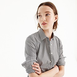 Petite stretch perfect shirt in classic stripe